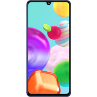 Click to view product details and reviews for Samsung Galaxy A41 64gb Blue At £2999 On Red 24 Month Contract With Unlimited Mins Texts 2gb Of 5g Data £17 A Month.