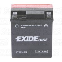 ETX7L-BS Motorcycle Battery
