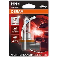 Nightbreaker Unlimited H11 - Single Pack bulb