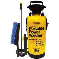 Portawasher/Portable Power 8L Sprayer with xtra wash brush