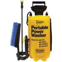 Portawasher/Portable Power 10L Sprayer with xtra wash brush