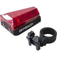 3 LED & 2 Laser Rear Bike Light