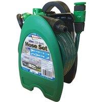 10m Garden Hose, Reel & Sprayer