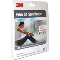 Film de survitrage 3M baie vitrée transparent 4 x 1,5 m