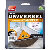 Joint universel PLASTO Confort'Air marron L.6 m
