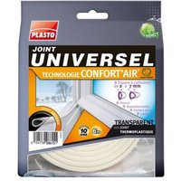 Joint universel PLASTO Confort'Air transparent L.6 m