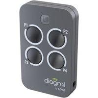Télécommande 4 fonctions DIAGRAL BY ADYX DIAG44MCX
