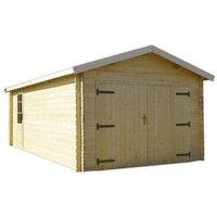 Garage bois BLOOMA Lempaala 17,37 m²
