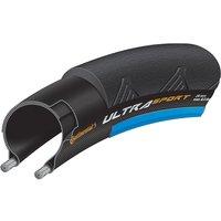 Continental Ultra Sport II Rennradreifen - Schwarz - Blau - Folding Bead