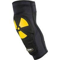 Image of Nukeproof Critical Enduro Elbow Sleeve - Black-Yellow - M, Black-Yellow