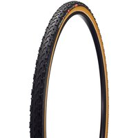 Image of Challenge Baby Limus Open Cyclocross Tyre - Black - Tan - Folding Bead, Black - Tan