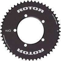 Rotor NoQ Round Aero Road Chainring - Black - 50t, Black