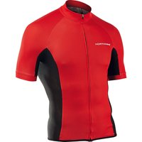 Image of Northwave Force Short Sleeve Jersey - Red - XL, Red