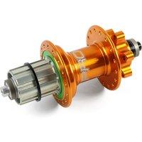 Image of Hope Pro 4 MTB Quick Release Rear Hub - Orange - 28h - 135mm x QR Axle, Orange