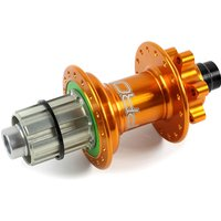 Image of Hope Pro 4 Mountain Bike Rear Hub - Orange - 32h - 142mm x 12mm Axle, Orange
