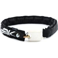 Hiplok LITE Wearable Bicycle Chain Lock - Black - White - Sold Secure Bronze Rated, Black - White