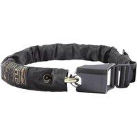 Hiplok GOLD Wearable Bicycle Chain Lock - Black - Sold Secure Gold Rated, Black