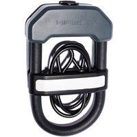 Hiplok DXC Wearable Bicycle Lock with Cable - Grey - Sold Secure Gold Rated, Grey