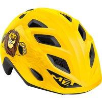 Image of MET Elfo Kids Helmet 2018 - Yellow Lion-Glossy - One Size, Yellow Lion-Glossy