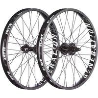 """Image of Blank Generation XL BMX Wheelset - Black - 20"""", Black"""