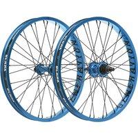 """Image of Blank Generation XL BMX Wheelset - Blue - 20"""", Blue"""