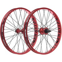 """Image of Blank Generation XL BMX Wheelset - Red - 20"""", Red"""