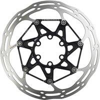 SRAM CenterLine X Ti Rounded Road Bike Rotor - Black - Centre Lock, Black