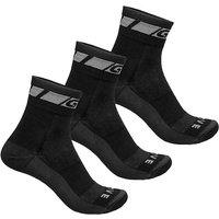 Image of GripGrab Merino Regular Cut Socks - Black, Black