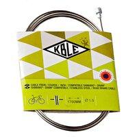 Transfil Shimano Rennrad Tandem Bremsinnenzug - Silber