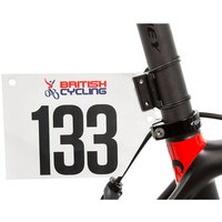 LifeLine Race Number Holder - Black - One Size, Black