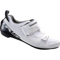 Shimano TR5 Triathlon Cycling Shoes 2018 - White - EU 45, White