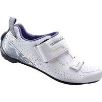 Shimano Womens TR5 Triathlon Cycling Shoes 2018 - White - EU 40, White