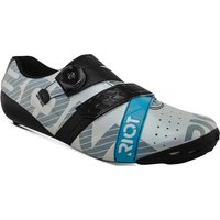 Image of Bont Riot Road+ (BOA) Cycling Shoe - Pearl White-Black - EU 42.5, Pearl White-Black