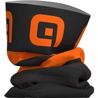 Alé Piuma Neck Warmer  - Black-Fluro Orange - One Size, Black-Fluro Orange