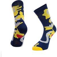 Ratio Floral 16cm Sock (Grey)