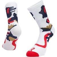 Ratio Floral 16cm Sock (White)