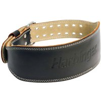 """Harbinger 4"""" Padded Leather Belt"""