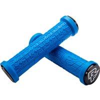Race Face Grippler Lock-on Mountain Bike Grips - Blue - 33mm, Blue