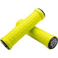Race Face Grippler Lock-on Mountain Bike Grips - Yellow - 30mm, Yellow