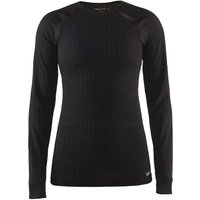 Craft Damen Active Extreme 2.0 Langarm-Funktionsshirt - Schwarz