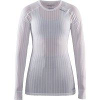 Craft Damen Active Extreme 2.0 Langarm-Funktionsshirt - Weiß - XXL