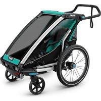 Thule Chariot Lite 1 Child Trailer - Bluegrass - Black, Bluegrass - Black