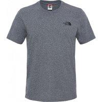 TThe North Face Simple Dome T-Shirt - TNF Medium Grey Heather - XXL
