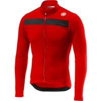 Castelli Puro 3 Long Sleeve Jersey - Red - M, Red