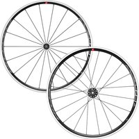 Fulcrum Racing 6 C17 Rennrad Laufradsatz 2020 - Schwarz - Weiß - Shimano