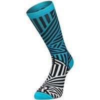 Ratio Dash 20 cm Sock (Blue-White) AW18