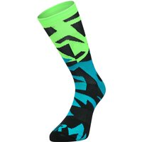Ratio Fracture 20 cm Sock (Blue-Green) AW18