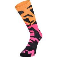 Ratio Fracture 20 cm Sock (Pink-Orange) AW18