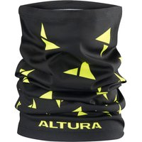 Altura Neck Warmer - Black-Hi-Viz Yellow - One Size, Black-Hi-Viz Yellow