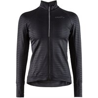 Craft Damen Velo Thermo Trikot 2.0 - Schwarz - XL